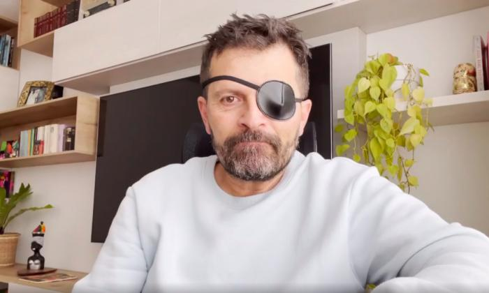 El estrés provoca lesión en un ojo al actor Julio César Herrera