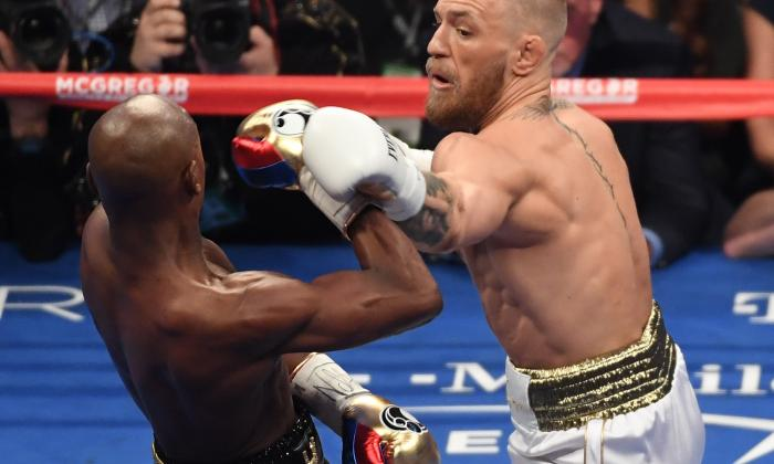En imágenes | Así fue la pelea entre Mayweather y McGregor