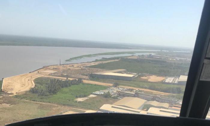 En imágenes | El islote que amenaza el canal navegable de Barranquilla