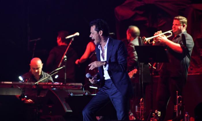 El concierto de Marc Anthony, involvidable