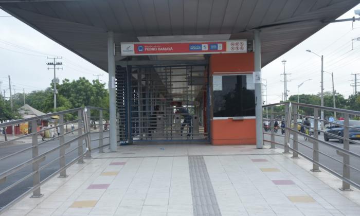 Sin Transmetro: así amaneció Barranquilla y parte de su Área Metropolitana