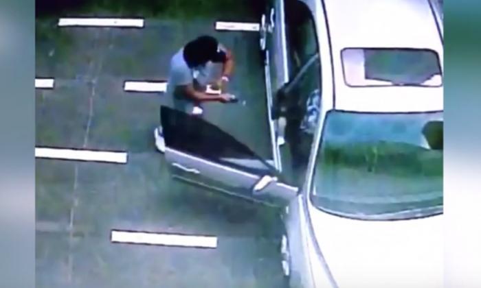 En video   Cámaras graban fleteo a una mujer en Altos del Prado