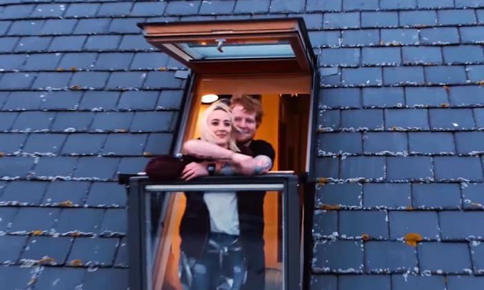 Saorise Ronan protagoniza el videoclip 'Galway Girl' de Ed Sheeran