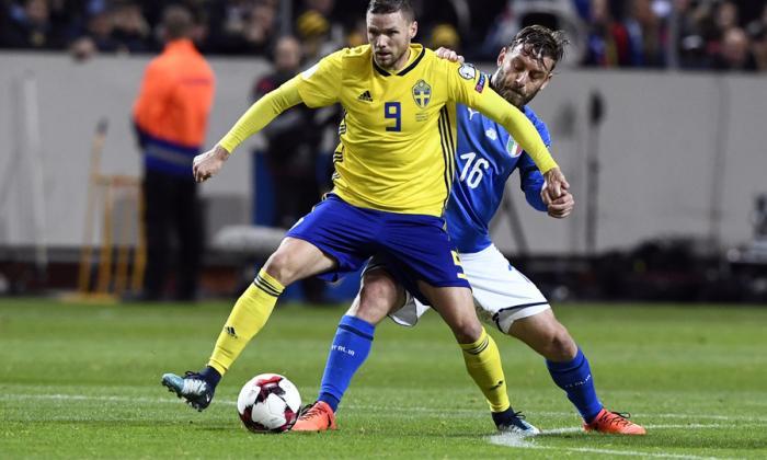 Daniele De Rossi, el jugador italiano que se negó a entrar en el juego ante Suecia