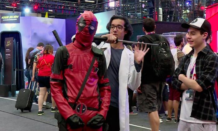 La Comic Con de Sao Paulo reúne a los fans de la cultura pop
