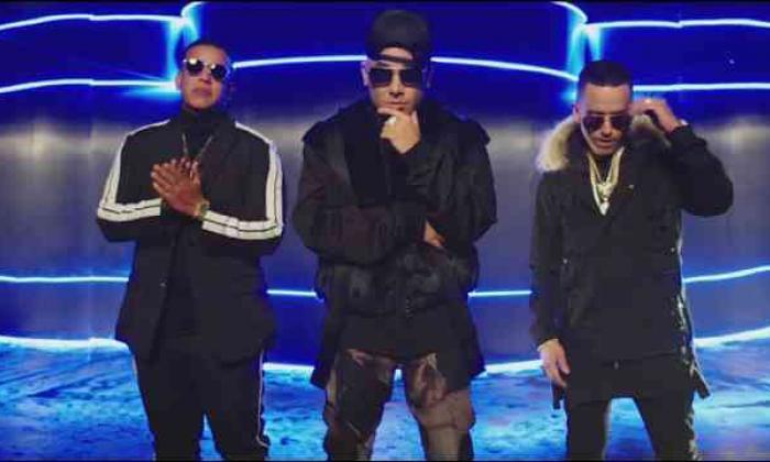 Wisin, Yandel y Daddy Yankee, en video futurista de 'Todo comienza en la disco'