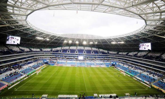 Este es el estadio Samara Arena, donde jugará la Selección Colombia ante Senegal