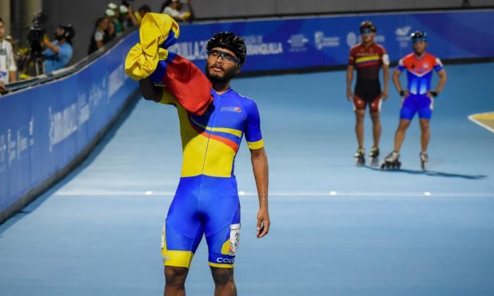 Alex Cujavante, patinador colombiano.