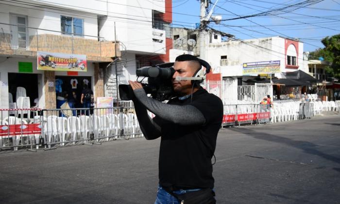 En video   Disfrute por EL HERALDO la transmisión de Telecaribe del desfile de Guacherna
