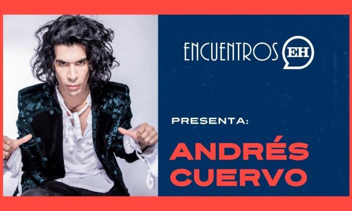 #EncuentrosEH | Andrés Cuervo presenta 'La Tentación' de su disco 'La Cura'