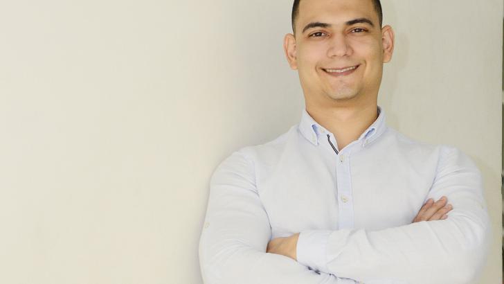 Luis Miguel Ballestas, emprendedor barranquillero.