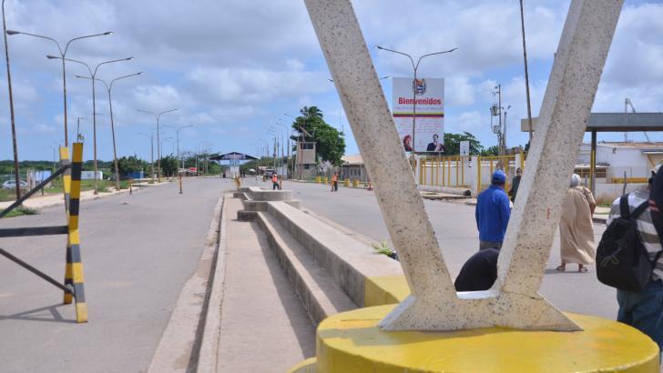 Frontera entre Colombia y Venezuela.