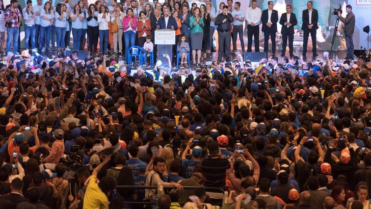 El electo presidente de Colombia, quien se posesionará el 7 de agosto, en su discurso tras los resultados.