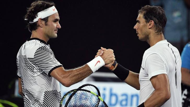 El suizo Roger Federer y el español Rafael Nadal.