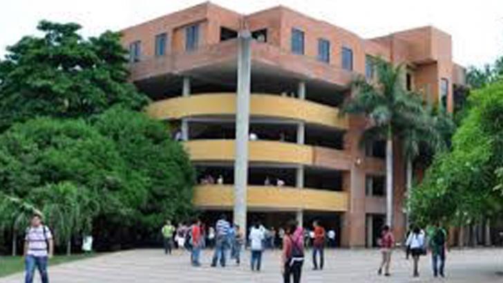 Fachada de la Universidad Popular del Cesar.
