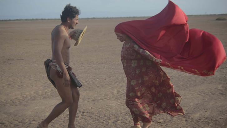 Natalia Reyes y su actuación en 'Pájaros de Verano'.
