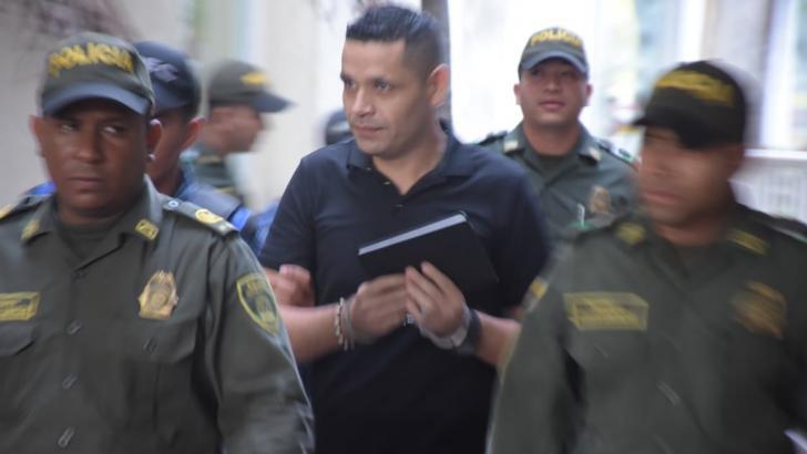 Raúl Danilo Romero Pavón, condenado.