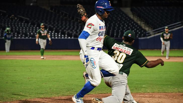 Caimanes sigue líder del standing de la Liga Colombiana del Béisbol Profesional.
