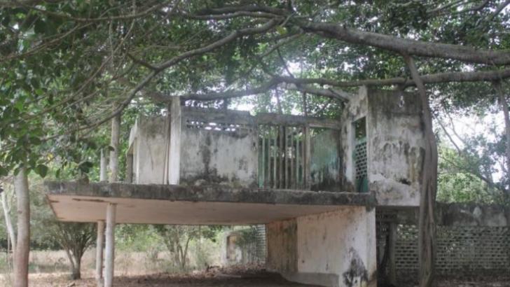 Finca El Palmar, centro de operaciones de las AUC.