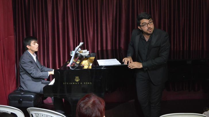 Andrés Santander y Eduardo Escolar, Dueto Colón.