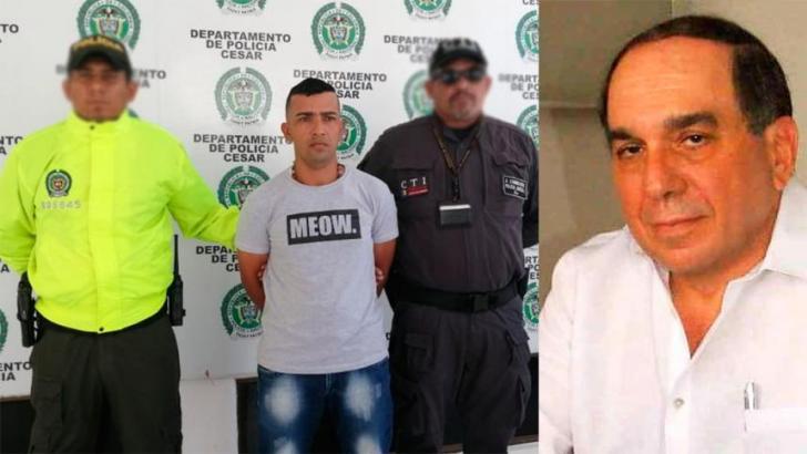 JaiderAcuña, presunto asesino de Tico Aroca.