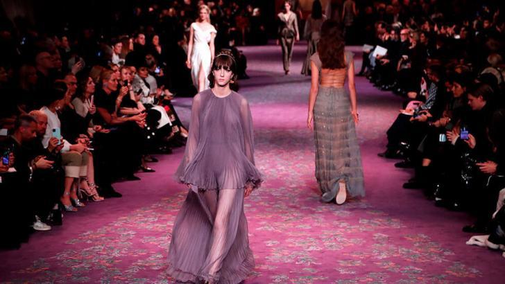 Así se vivió el desfile de Dior en la Semana de la Alta Costura de París.