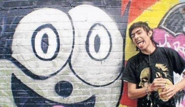 Diego Felipe Becerra, grafitero.