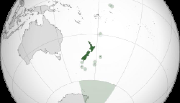Nuevo continente Zelandia.