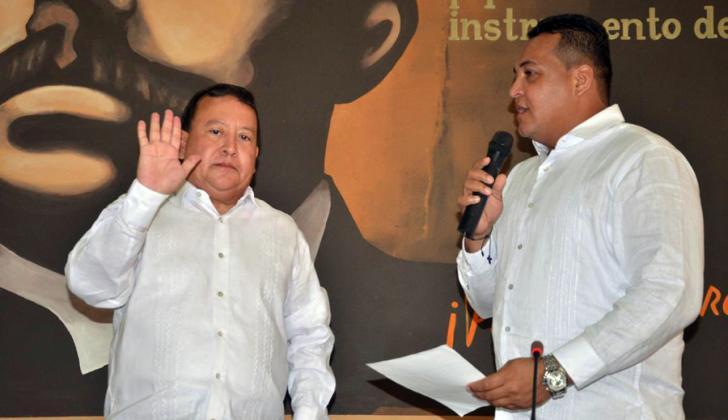 Weildler Guerra, gobernador (e) de La Guajira.