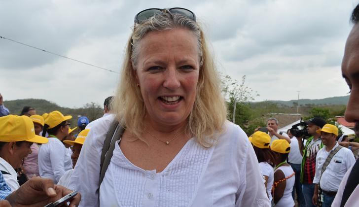 Marie Andersson, embajadora de Suecia.