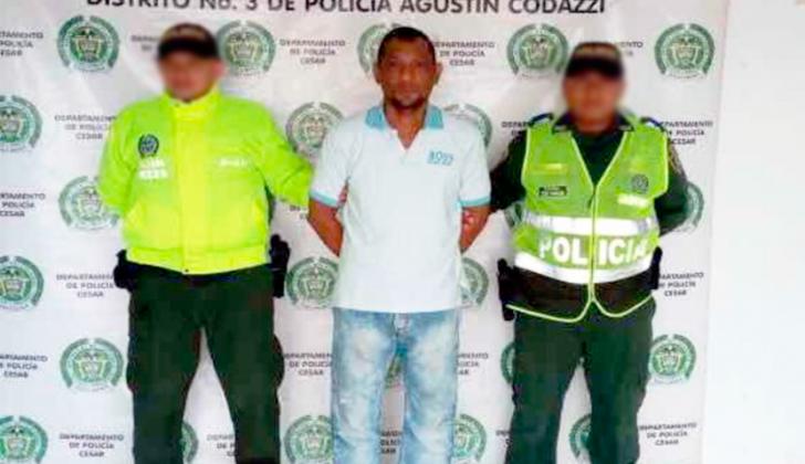 Rehinel Tapias Moraless, capturado.