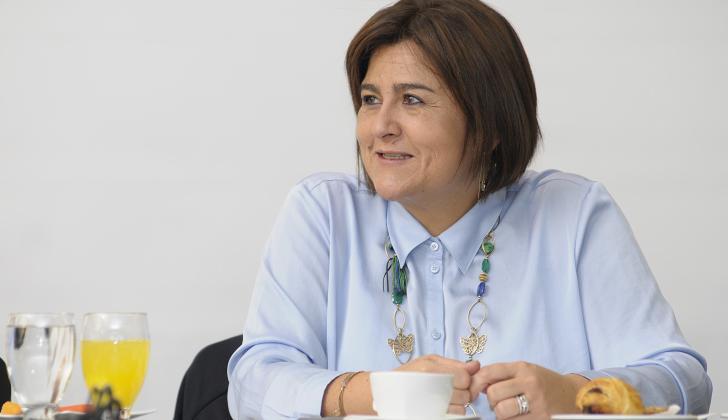 La ministra de Comercio, Industria y Turismo, María Lorena Gutiérrez.