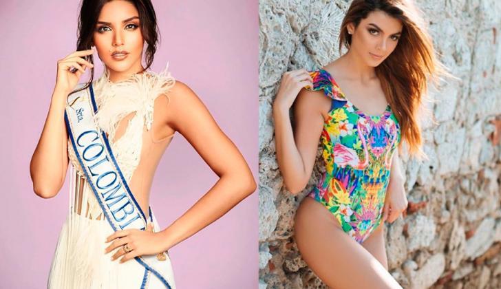 La Señorita Colombia, Laura González, y la señorita Atlántico y virreina del Miss Supranational 2017, Martha 'Tica' Martínez.