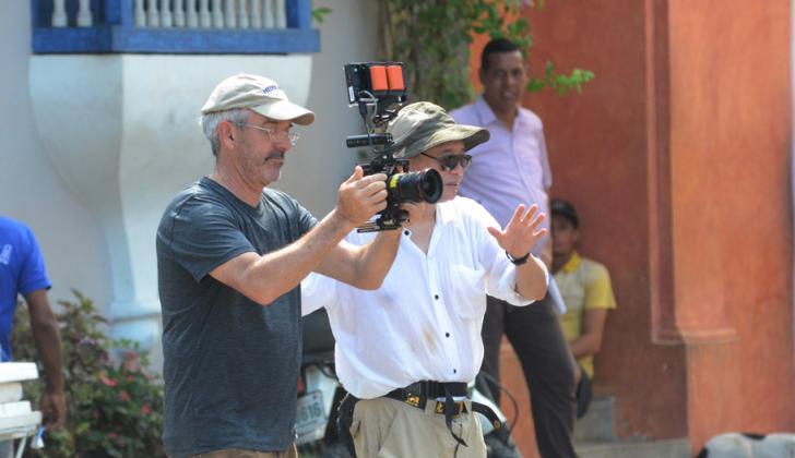 El director Ang Lee durante su visita el pasado mes de noviembre a Cartagena.