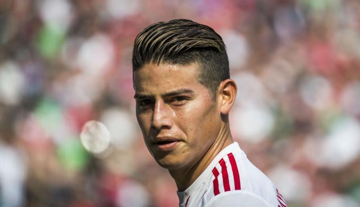 James Rodríguez, futbolista colombiano.