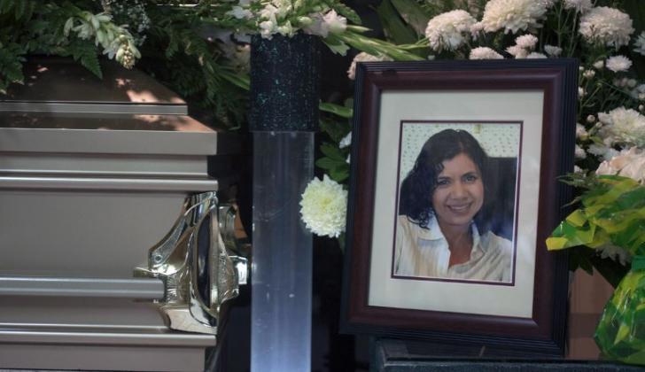 Alicia Díaz, periodista mexicana asesinada.