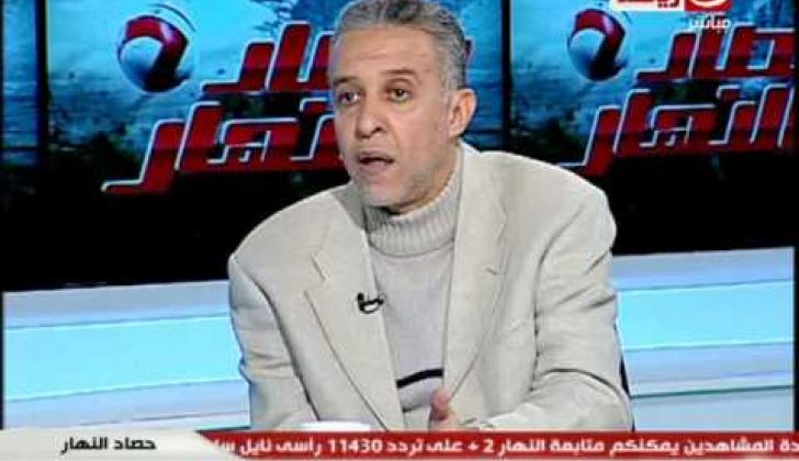 Abdel Rahim Mohamed, comentarista deportivo egipcio.