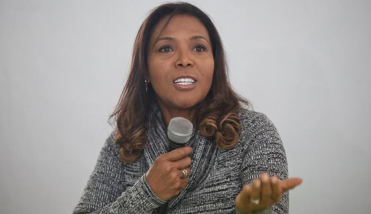 Ministra de Cultura, Carmen Inés Vásquez Camacho.