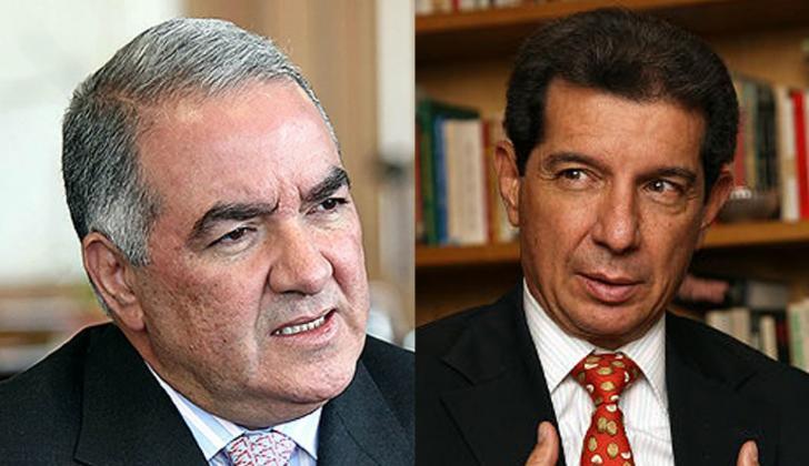 Edgardo Maya y José Félix Lafaurie.