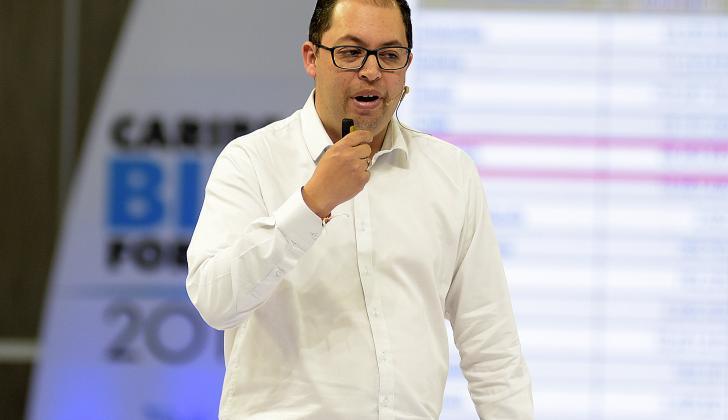 Andrés Gallego, gerente general de Global Net de Telecom.