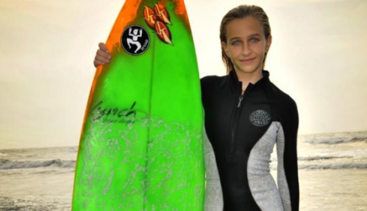 La surfista barranquillera Sofía Loewy.