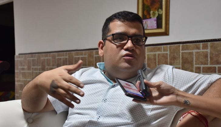 Pedro Araújo Zarate, gerente del hospital e Baranoa.