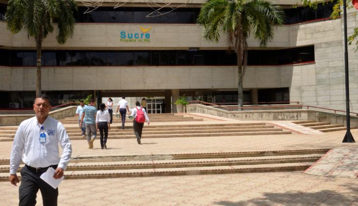 Edificio de la Gobernación de Sucre.