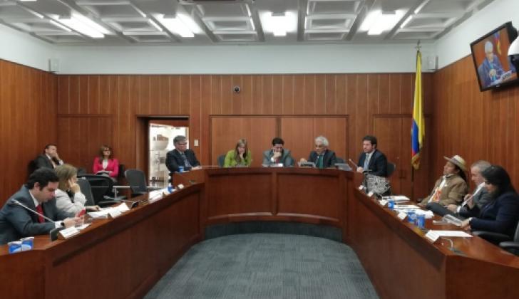 La Comisión de Ordenamiento Territorial.