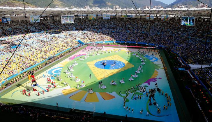 El Maracaná albergó la final de la Copa del Mundo.