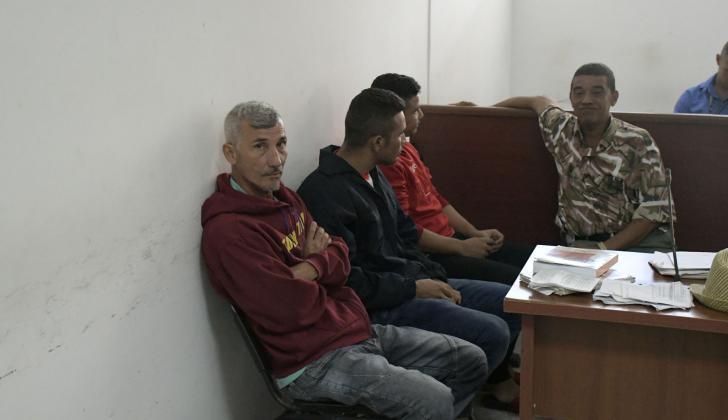 Capturados presentados ante la juez Sexta Penal.