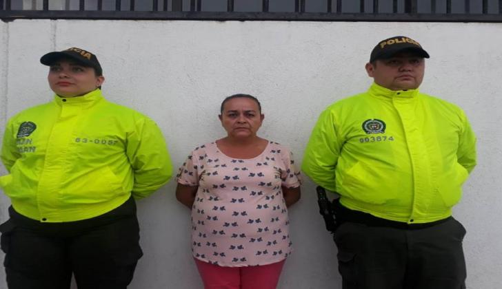Teresa de Jesús Ruiz López, capturada.