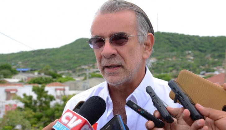 El gobernador del Atlántico Eduardo Verano De la Rosa.
