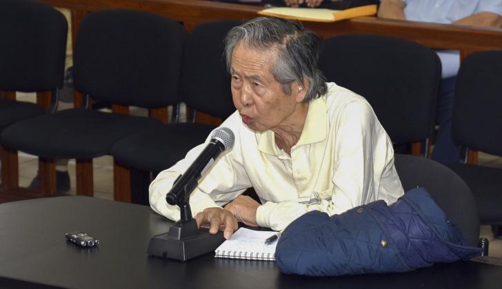 Alberto Fujimori,