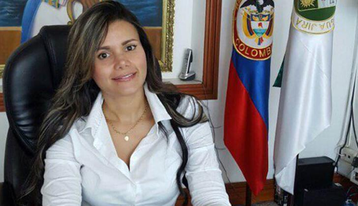 Alcaldesa (e) de Riohacha Alexa Henríquez Lúquez.